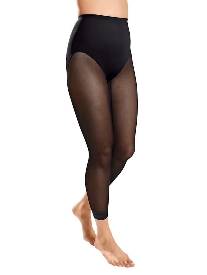 Culotte gainante d'aspect collant
