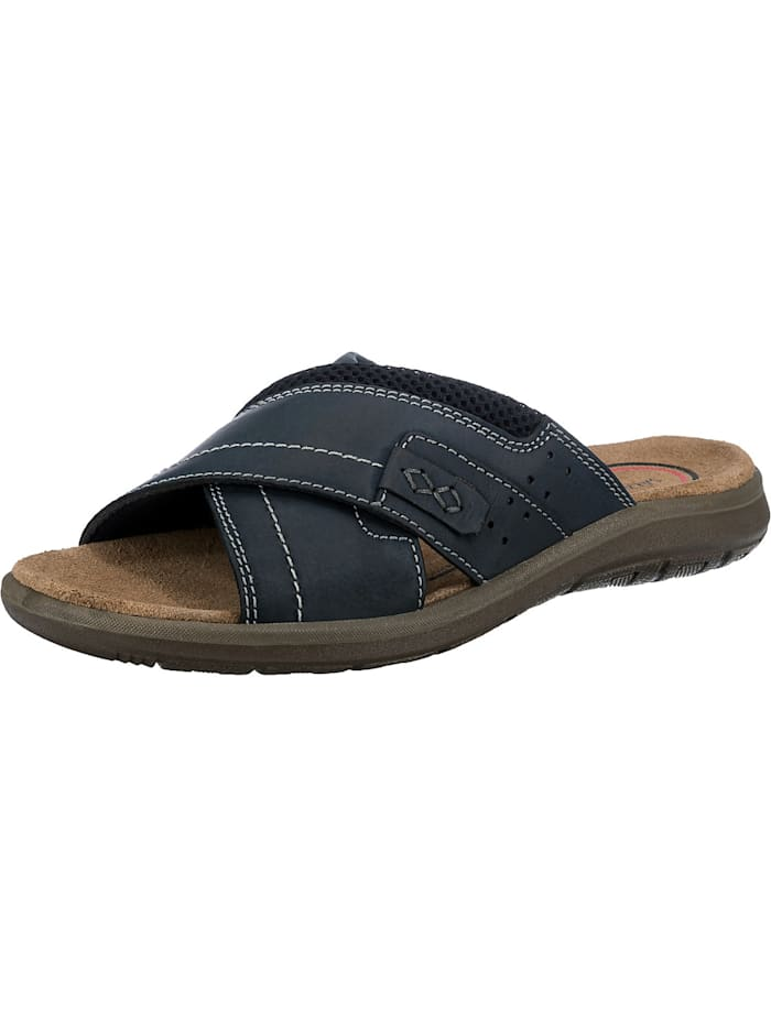 Salamander Logato Komfort-Pantoletten, blau