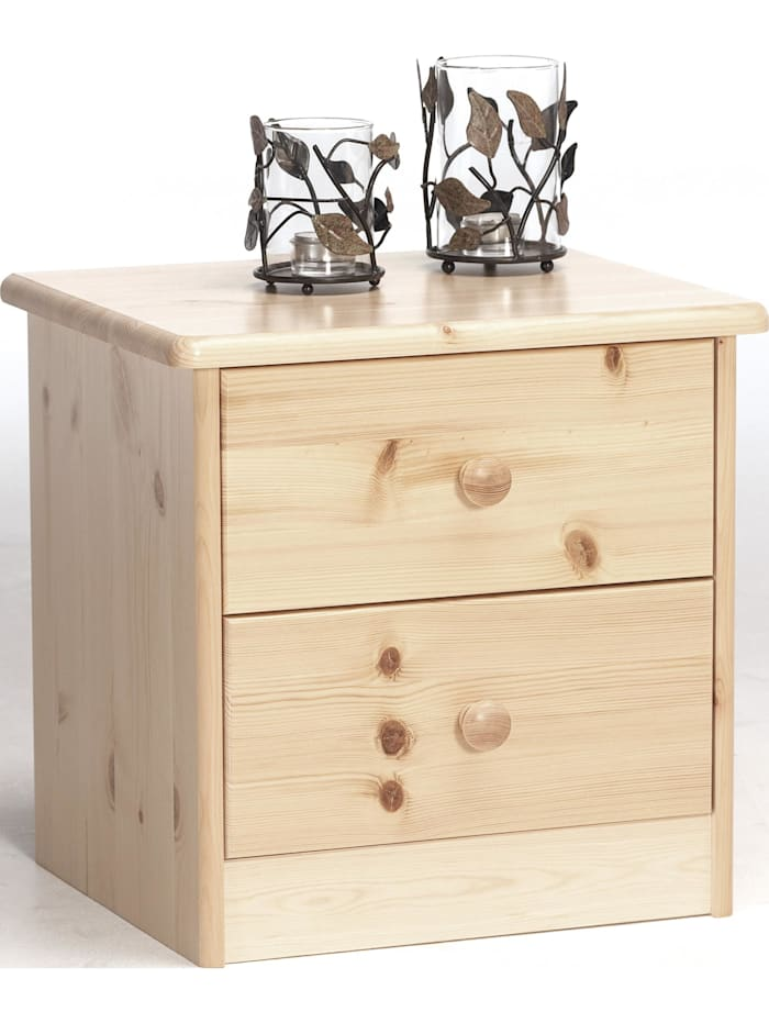 Cats Collection Nachttisch Nachtkonsole Kiefer Natur lackiert, Kiefer