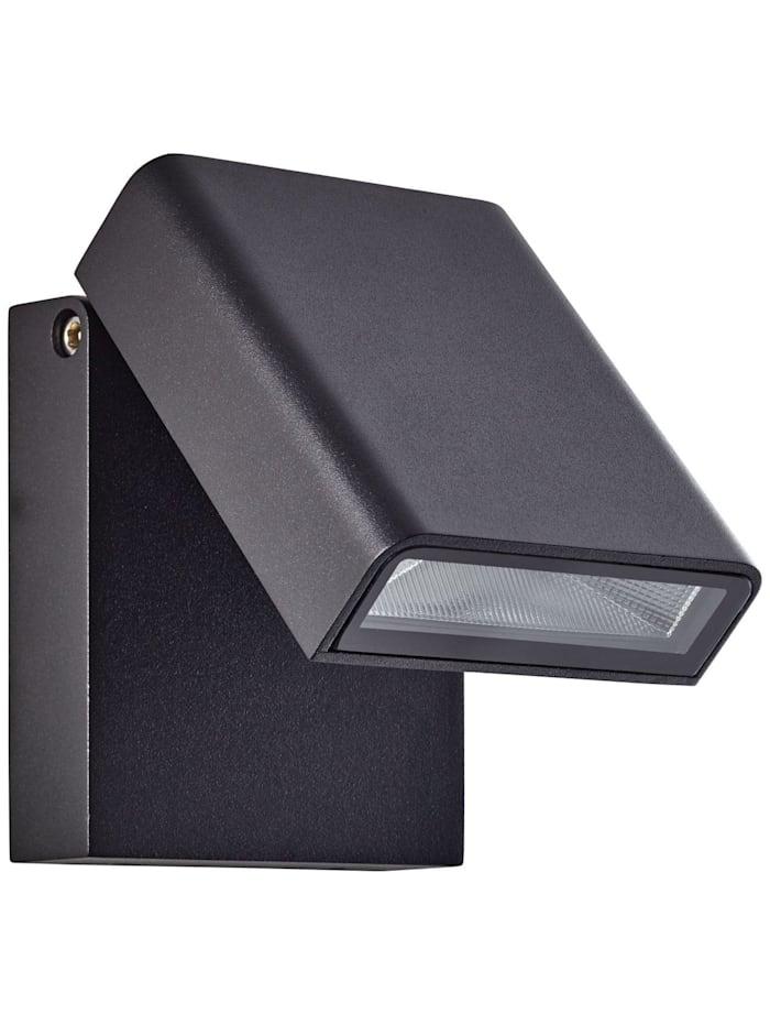 Toya LED Außenwandstrahler schwarz