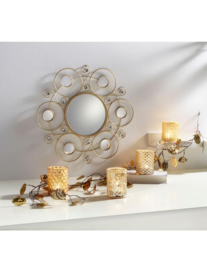 Creativ Deco 4er Set Teelichthalter, Gold