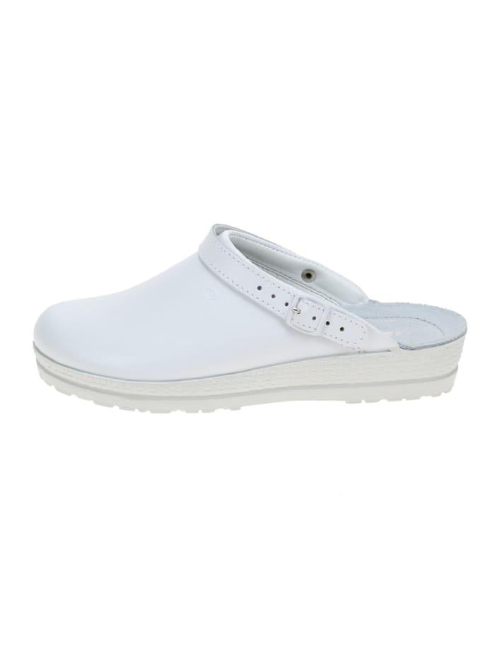 Damen Pantolette in weiß