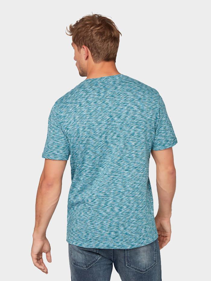 T-Shirt mit mehrfarbigem Print
