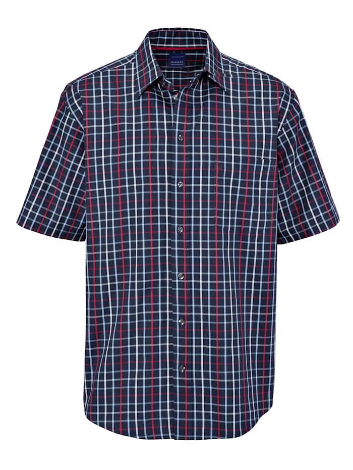 BABISTA Overhemd, Marine/Rood