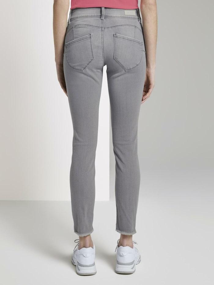 Alexa Skinny Jeans mit Fransen