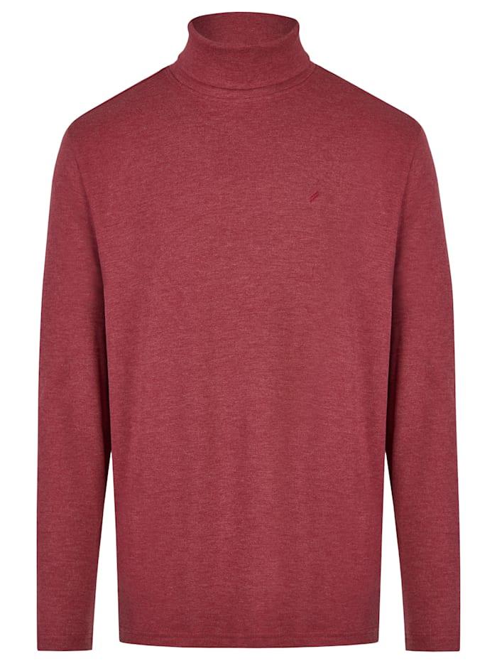 Daniel Hechter Essential Rollkragen-Shirt, dark red
