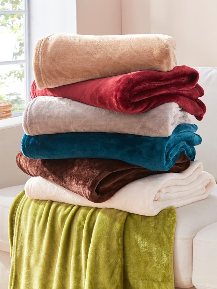 Fleecová deka Olbia