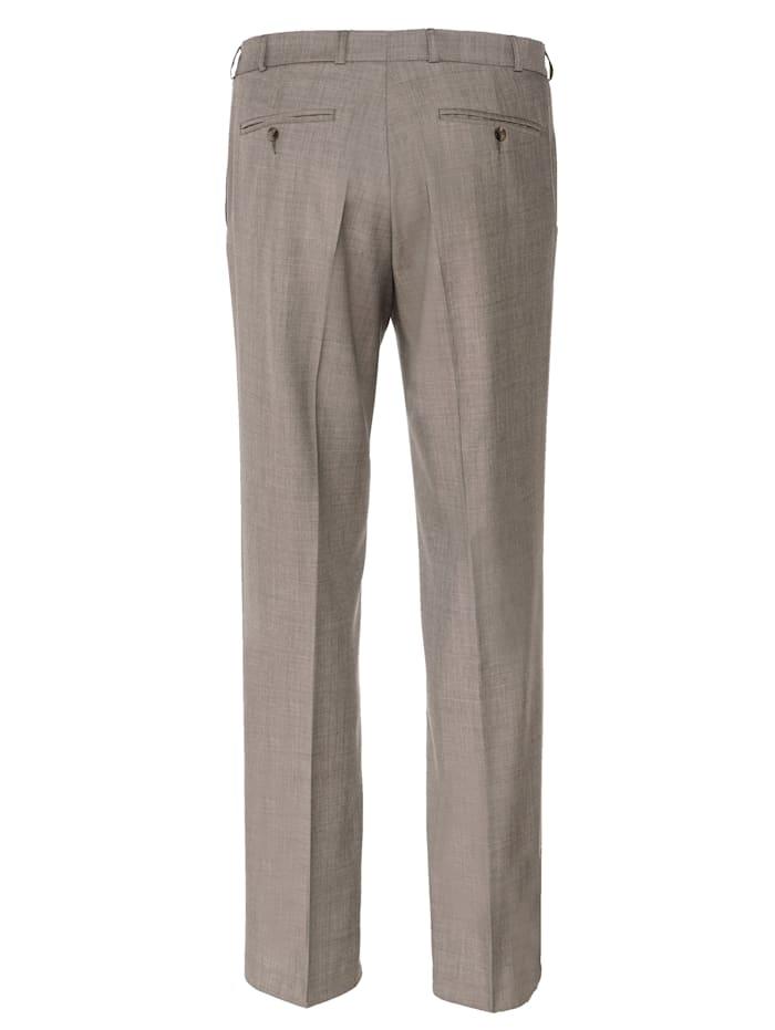 Pantalon en laine avec 7 cm d'ampleur supplémentaire à la taille