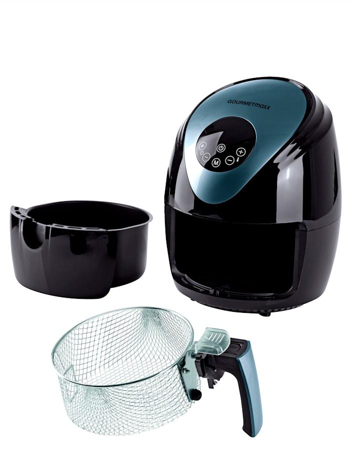 GOURMETmaxx Friteuse à air chaud GOURMETmaxx, écran numérique, Noir/gris