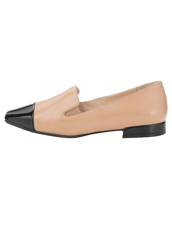 Loafer mit beidseitigen Elasteinsätzen