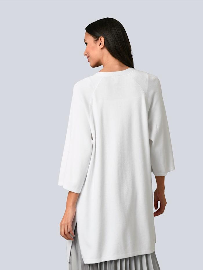 Vest met zijsplitten