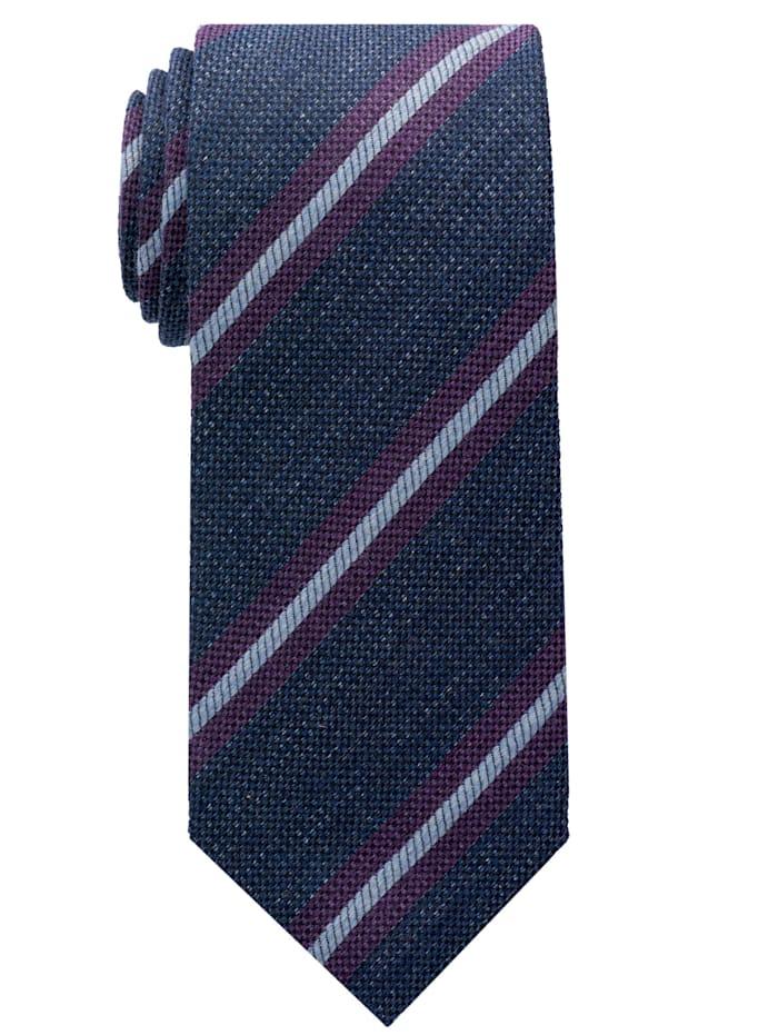 Eterna Eterna Krawatte breit, blau/violett