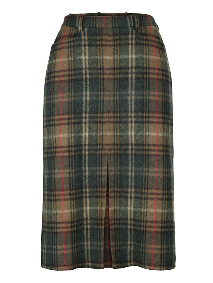 Skirt made from a soft wool blend