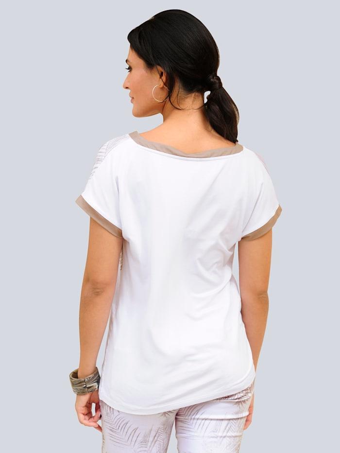 T-shirt à imprimé exclusif Alba Moda