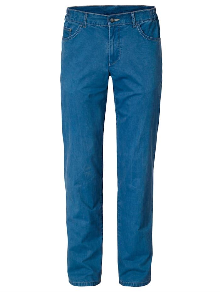 BABISTA Pantalon à empiècements extensibles à la ceinture, Bleu