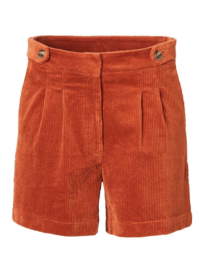 REKEN MAAR Shorts, Cognac
