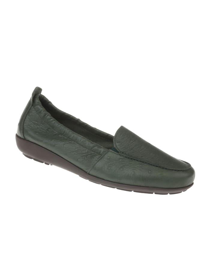 Natural feet Mokassin Alessandra, Grün
