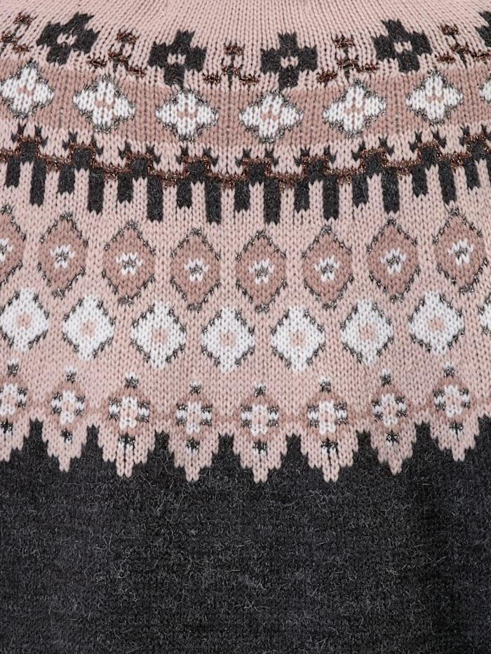 Pullover mit modischem Muster
