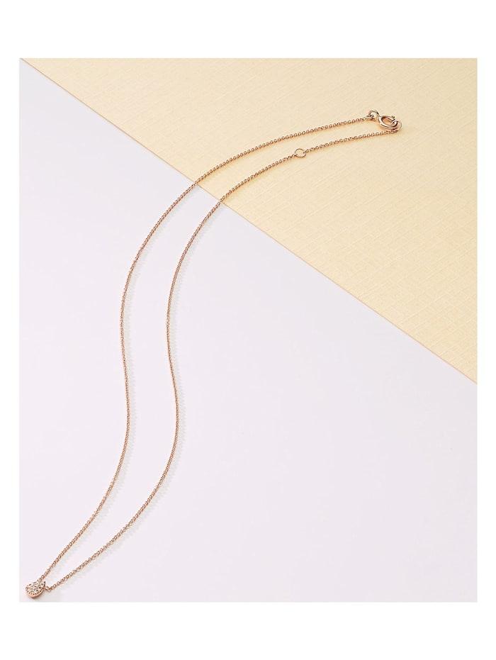 CHRIST Diamonds Damen-Kette 375er Roségold 10 Diamant