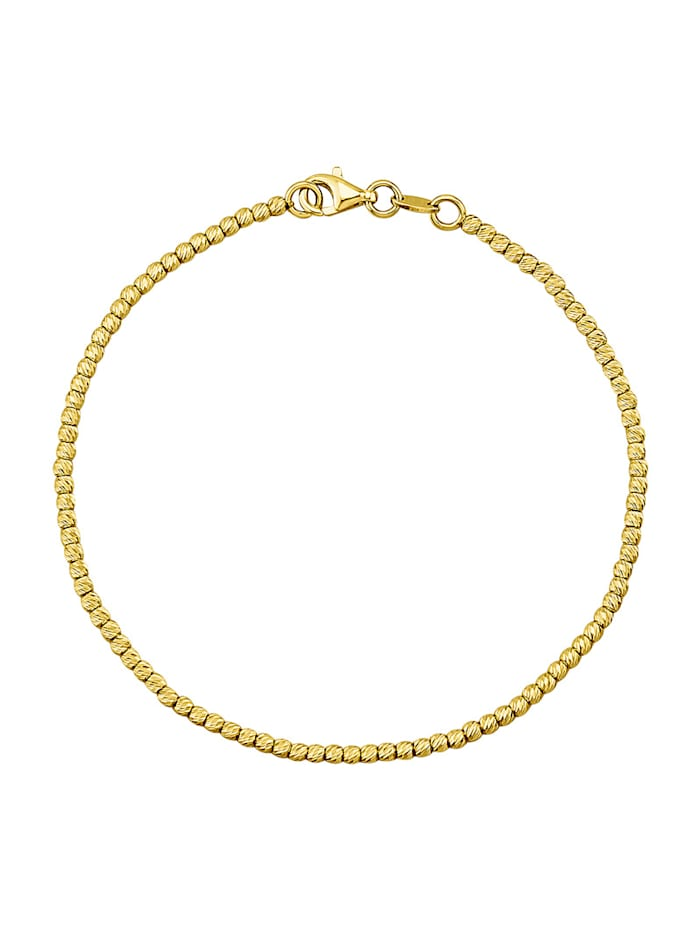 Armband in Gelbgold 585, Gelbgoldfarben