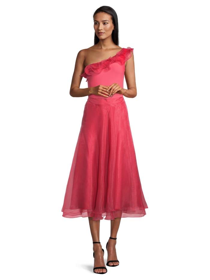 Vera Mont Abendrock im Layer Look, Bright Raspberry