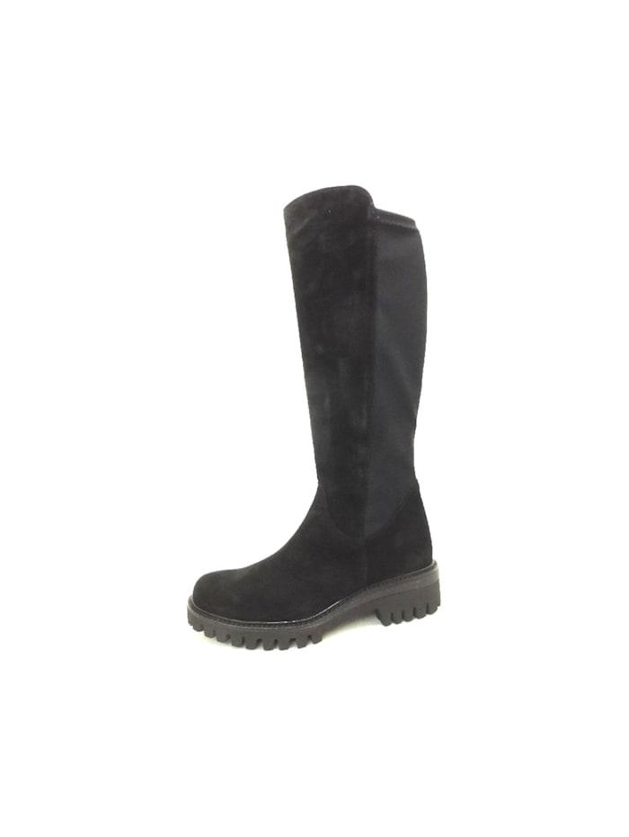 Paul Green Damen Stiefel in schwarz, schwarz