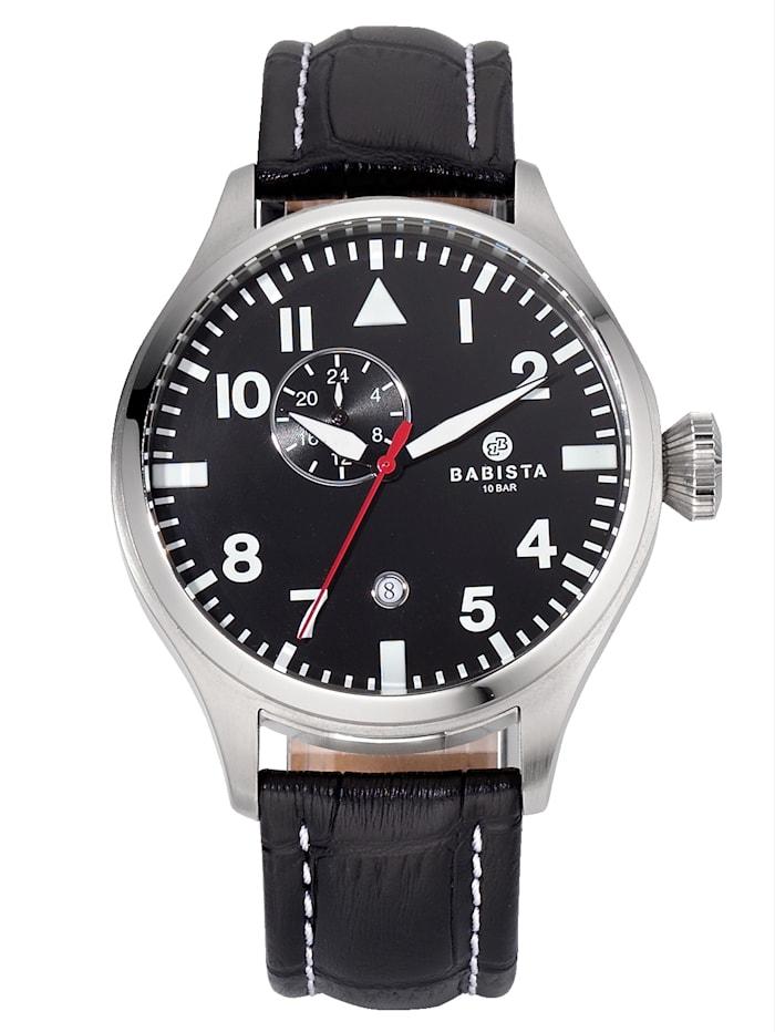 BABISTA Herren-Automatikuhr AS4025-08E, Silberfarben