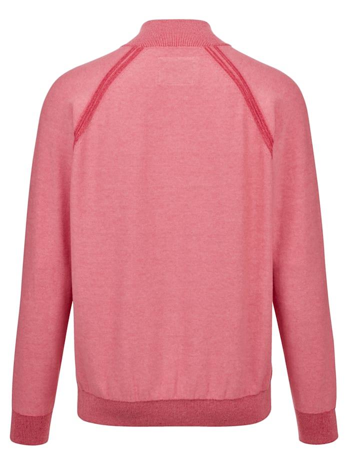Pullover mit besonderer Ripp-Struktur