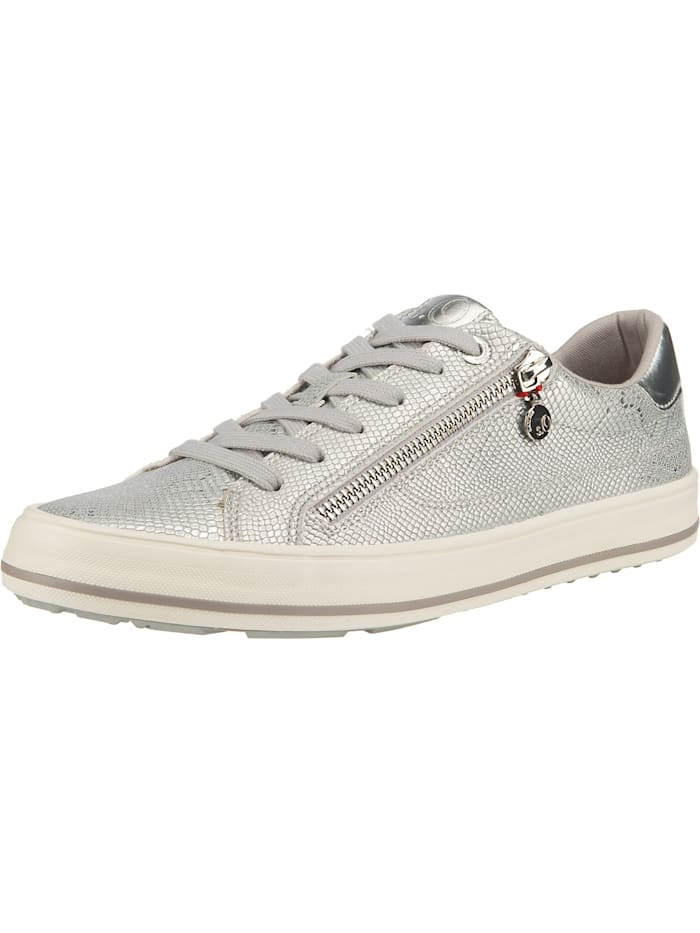 s.Oliver Sneakers Low, silber