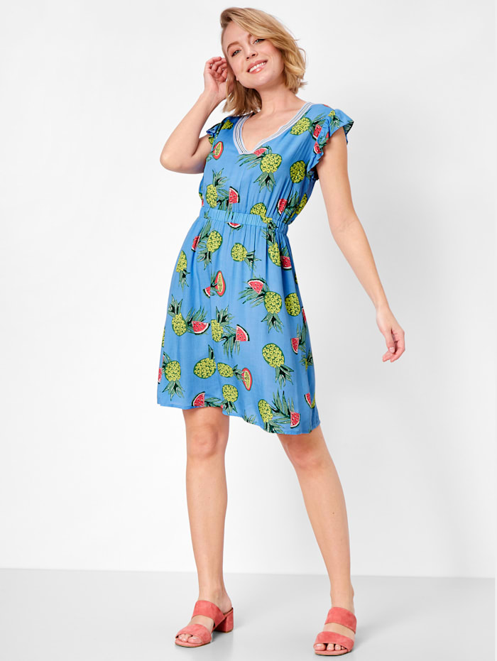 Kleid mit sommerlichem Print