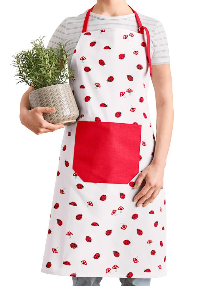 Kjøkkenhåndklær i 2-pk -Marihøne-