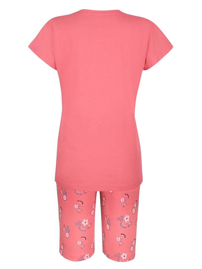 Pyjamaser med glittertrykk