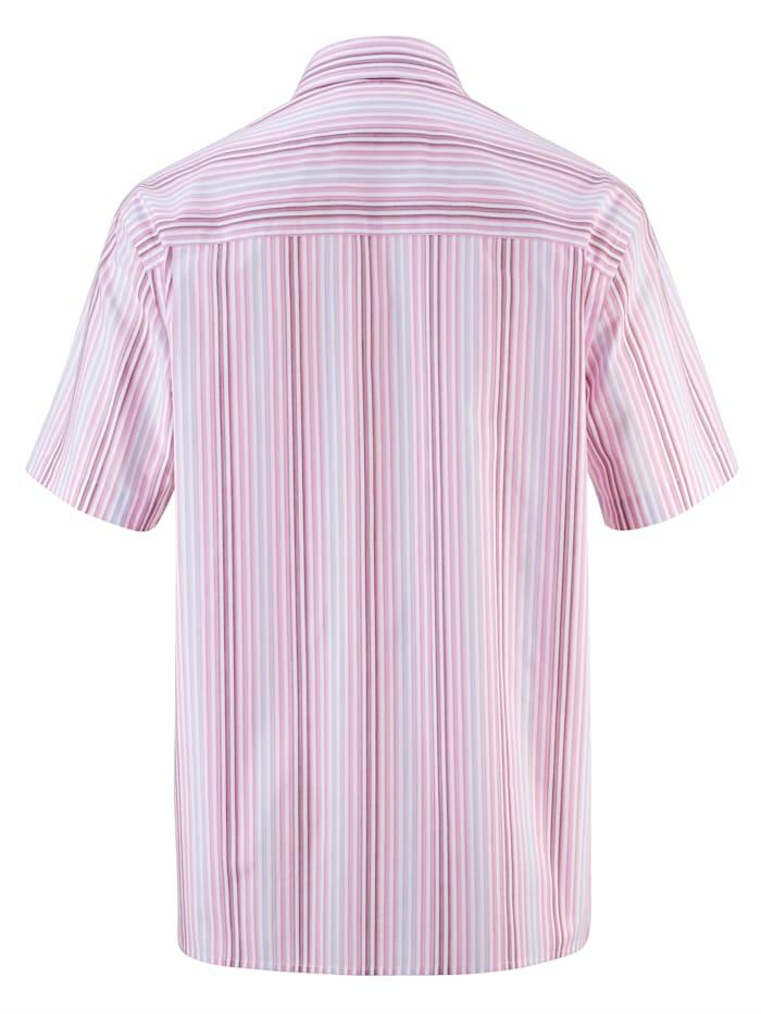 Overhemd van strijkarm materiaal