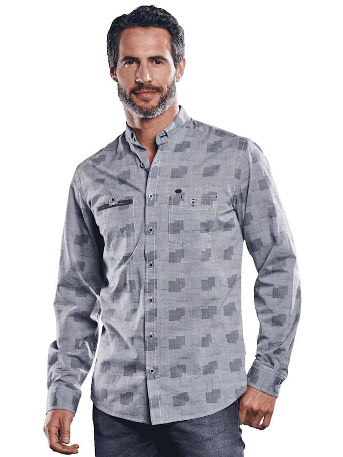 Engbers Individuelles Langarmhemd, Silbergrau