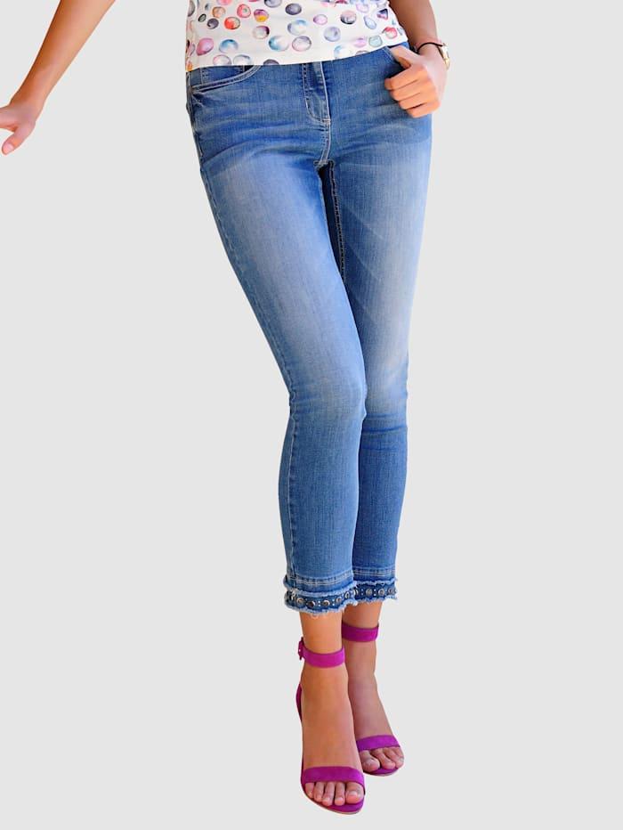 Alba Moda Jeans in 5-pocketmodel, Blauw