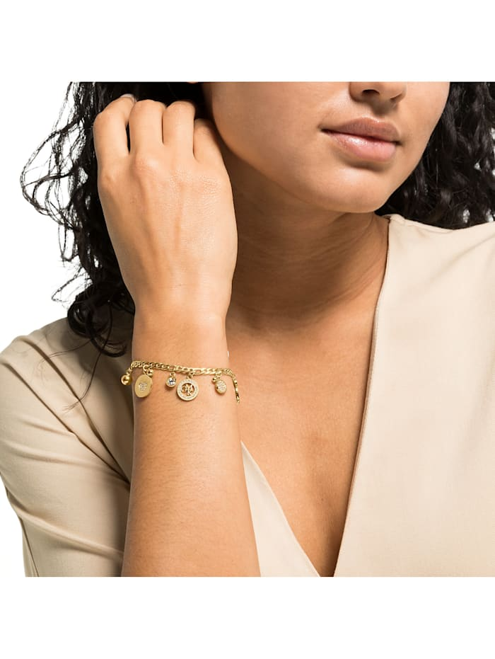 GMK Damen-Armband Edelstahl 60 Zirkonia