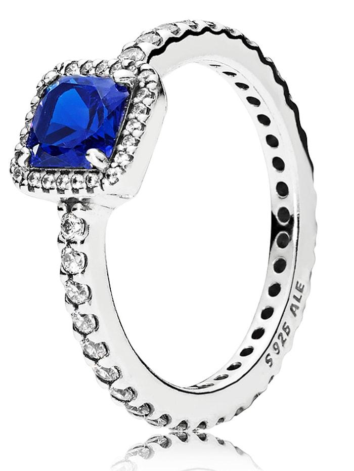 Pandora Damenring - Zeitlose Eleganz - 190947NBT 52-60, Blau