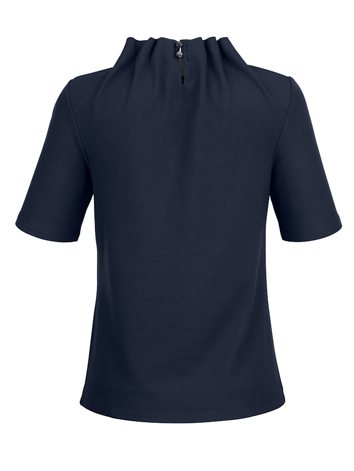 Shirt met fraaie kraagvariant