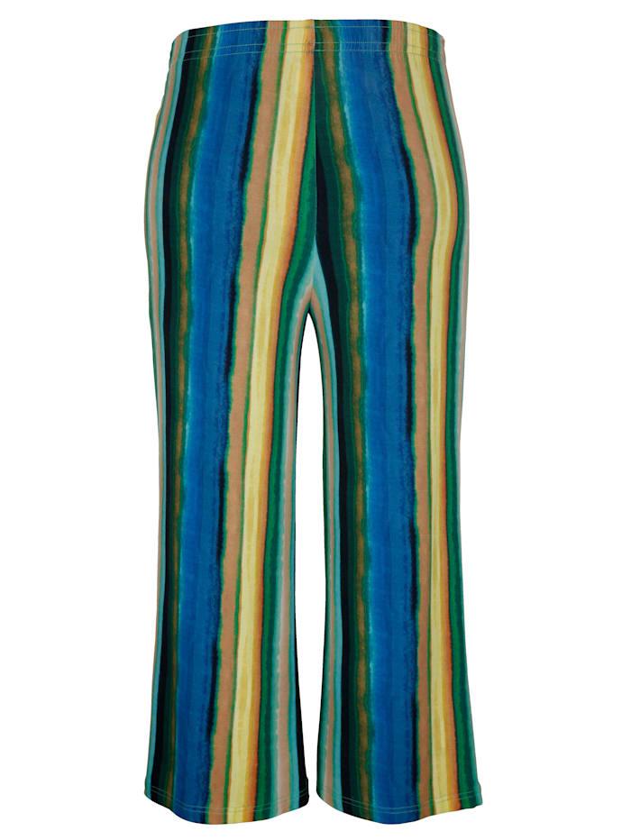 Jupe-culotte à ceinture extensible