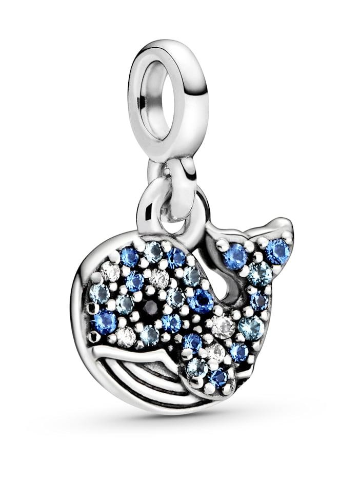Pandora Charm - Mein blauer Wal - Pandora ME - 798972C01, Silberfarben