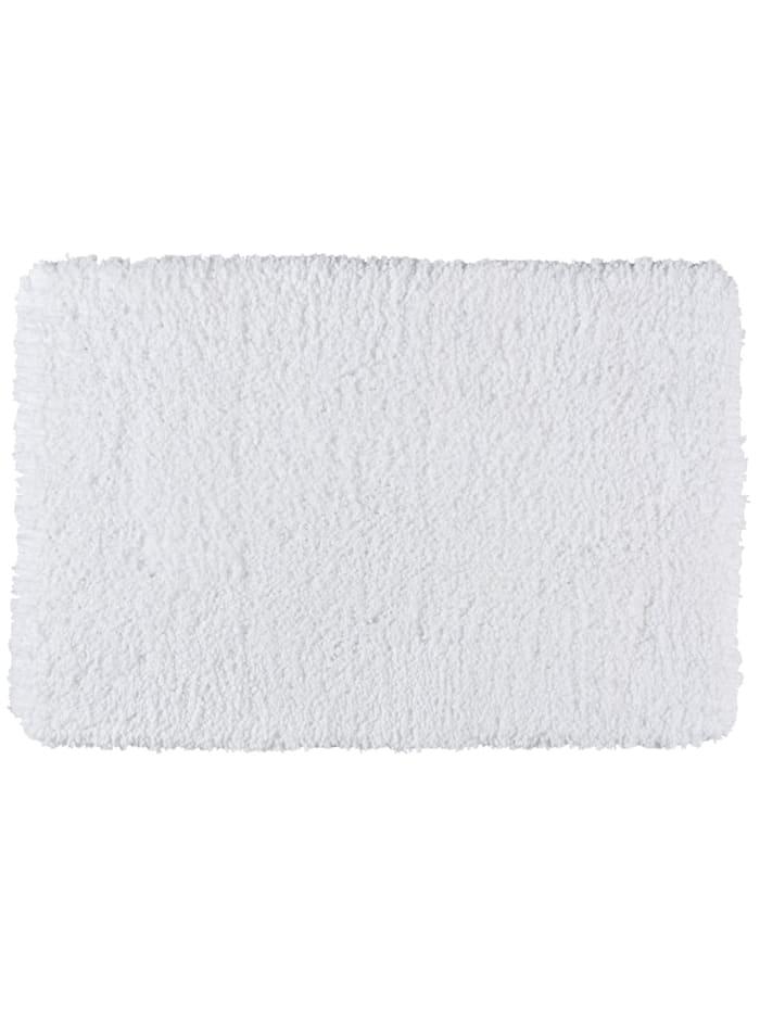 Wenko Badteppich Belize Weiß, 60 x 90 cm, 60 x 90 cm, Mikrofaser, Polyester/Mikrofaser: Weiß