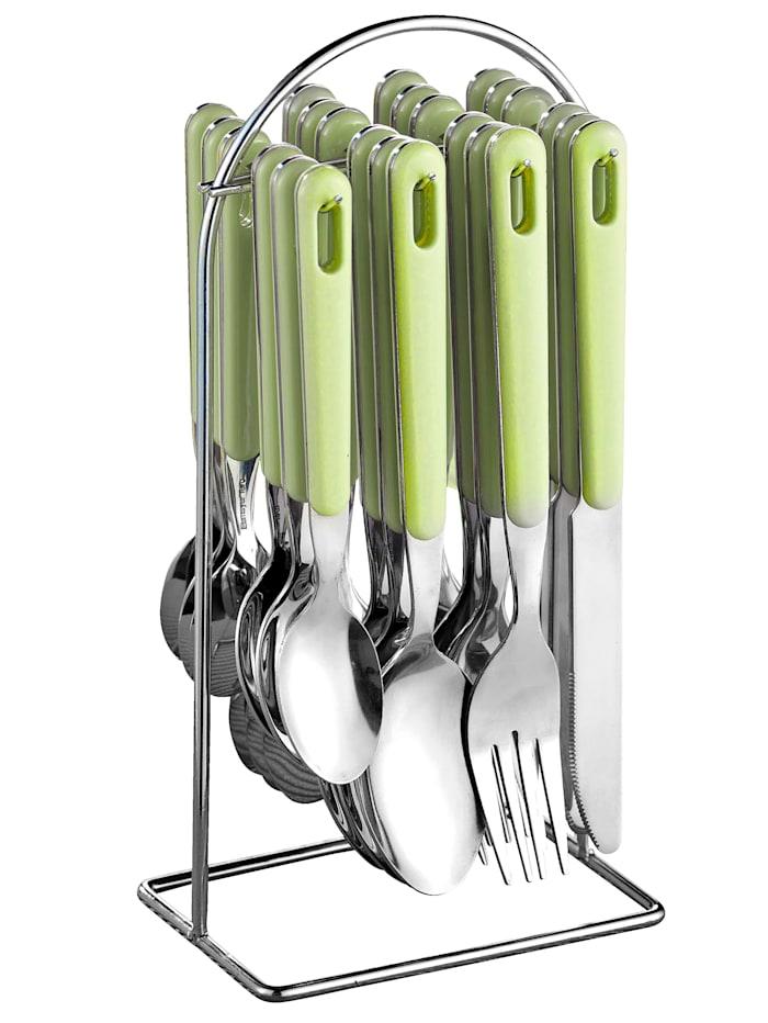Esmeyer Bestikksett -Bistro- i 24 deler, lindegrønn