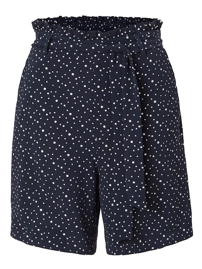 Kaffe Paperbag Shorts, Blau