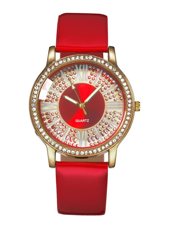 Laura Kent Armbanduhr, Rot