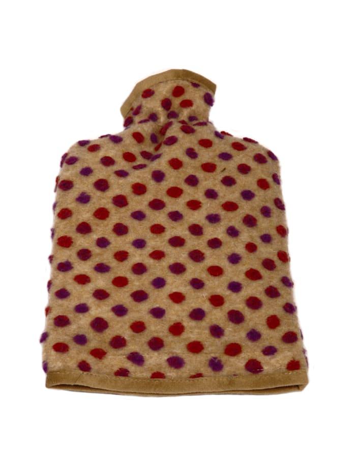Linke Licardo Wärmflaschenbezug Wolle Noppen 20/30 cm, beige