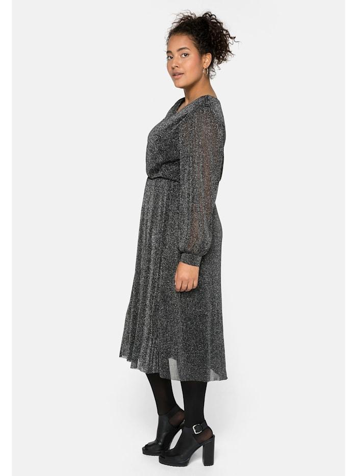 Sheego Kleid mit Effektgarn