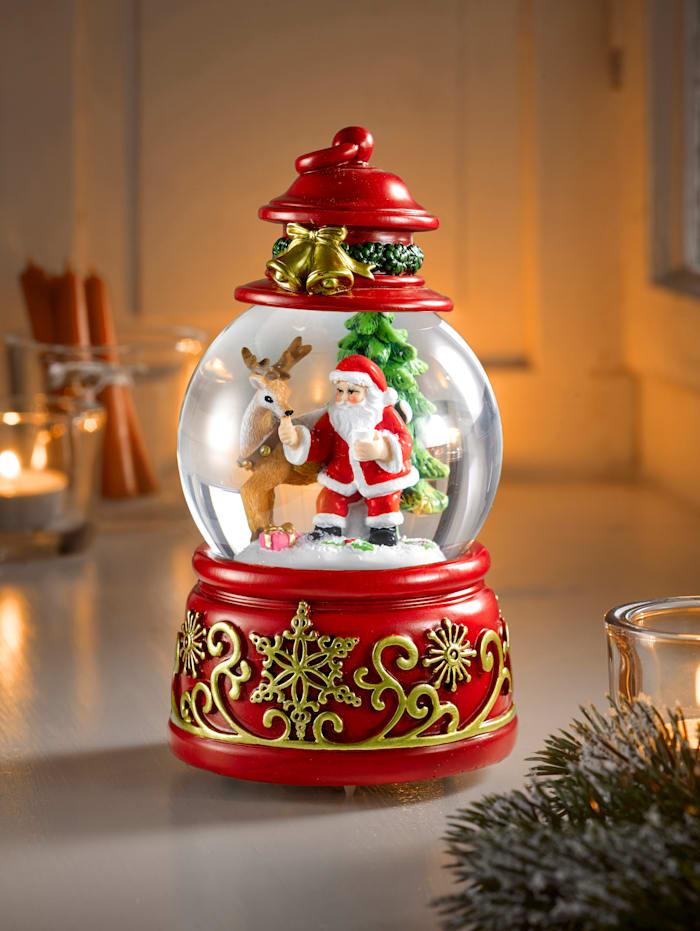 My Flair Schneekugel 'Jingle Bells', rot