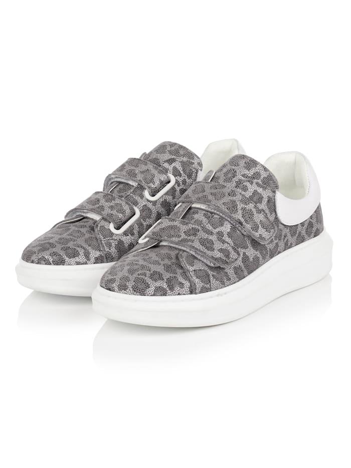 REKEN MAAR Sneaker, Grau