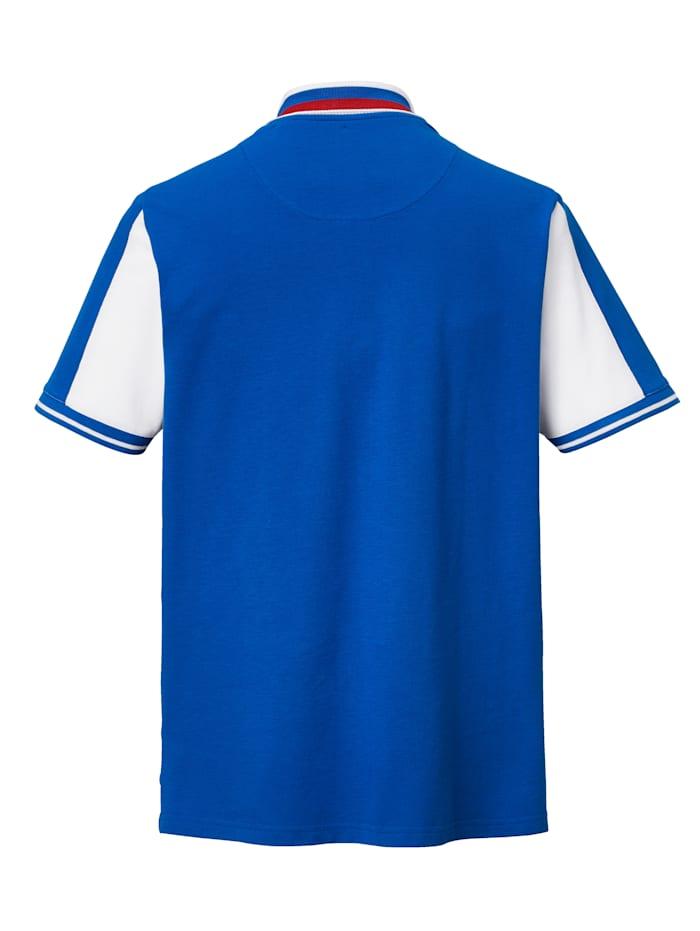 Poloshirt mit kontrastfarbenen Akzenten