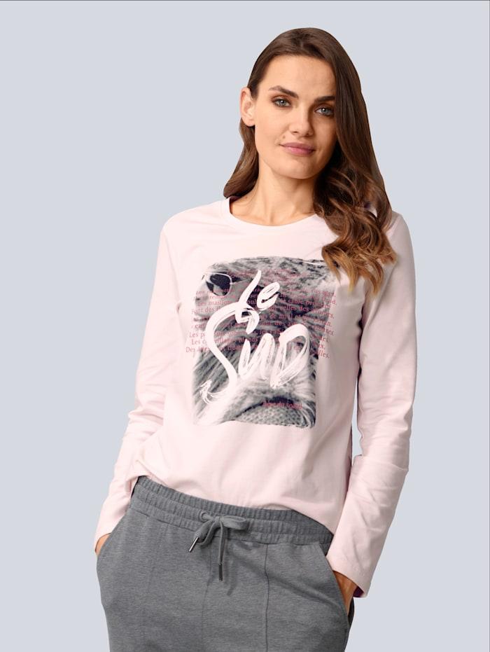 MARGITTES Shirt aus angenehm weicher Jerseyware, Rosé